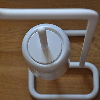 Oryginalne białe wykończenie akcesoriów łazienkowych GESSI Goccia