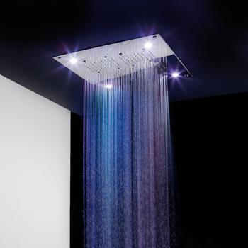 Inteligentne deszczownice My Spa z wbudowanymi diodami LED