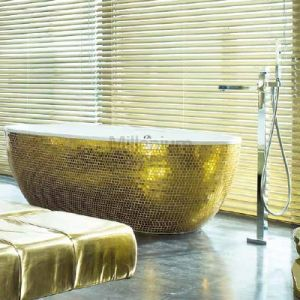 AQUAMASS Stone One Mosaic Gold Wanna