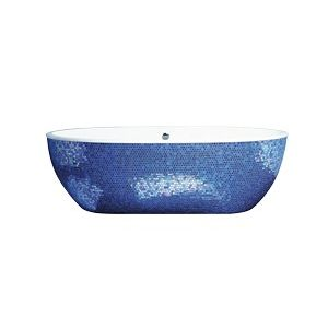 AQUAMASS Stone One Mosaic Blue Wanna
