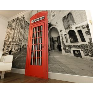 ART RADIATORS Red Telephone Box Grzejnik
