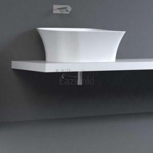 TECHNOVA Bluma 72x55 cm Umywalka nablatowa