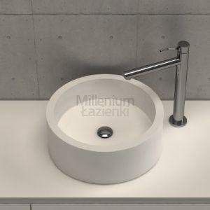 DIMASI BATHROOM Circolo Crl0107 Okrągła umywalka kompozytowa