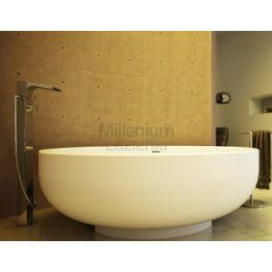 DIMASI BATHROOM Gold Gld0102 Wanna kompozytowa okrągła