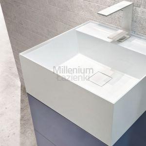 LASAIDEA Syn Umywalka kompozytowa nablatowa 45x43x18 cm