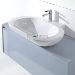 LASAIDEA Bess Umywalka ceramiczna 80x49,5x12 cm