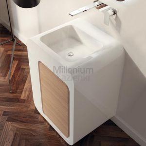LASAIDEA UnoPuntoZero Umywalka z drzwiami stojąca 60 cm