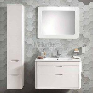 EBAN Gioia Comp126 Nowoczesna szafka wisząca z umywalką