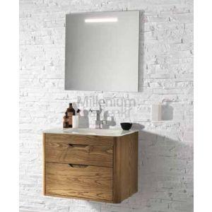 EBAN Gioia Comp133 Szafka wisząca z umywalką szklaną