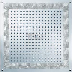 BOSSINI H38459050 Deszczownica kwadratowa 470x470 mm Swarovski