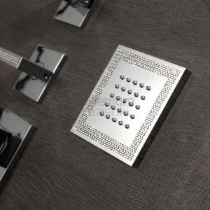 BOSSINI I00176 Dysza prysznicowa kwadratowa Swarovski