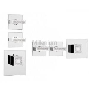 BOSSINI LP Z033203050 Z030201 Bateria prysznicowa termostatyczna
