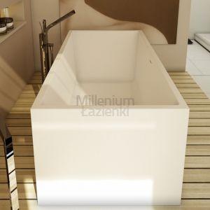 DIMASI BATHROOM Platinum Tub PLT0208B Wanna prostokątna kompozytowa