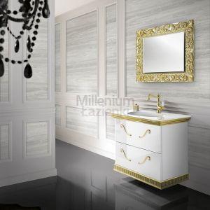 MIA ITALIA Venezia 02 Szafka wisząca z szklaną umywalką
