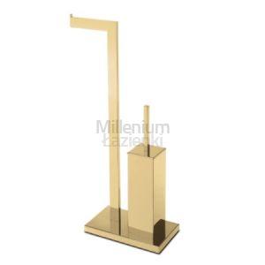 3SC SK20 SK52 Uchwyt na papier toaletowy szczotka wc kolor złoty
