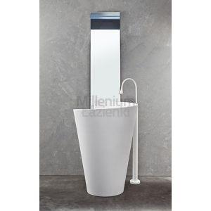 MASTELLA DESIGN Kon Umywalka wolnostojąca biała