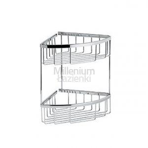 EMMEVI AD019 Podwójny koszyk na akcesoria łazienkowe