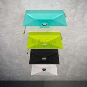COMPONENDO Minimal Umywalka ze stali nierdzewnej różne kolory