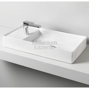 ARTCERAM Scalino 75 SCL004 Umywalka prostokątna