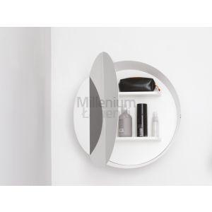 EXT Bon Bon Mirror Biała szafka wisząca z lustrem