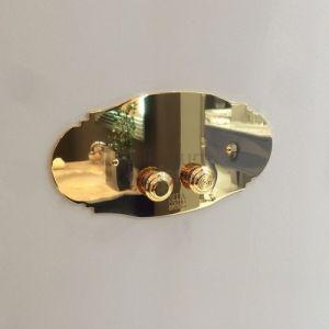 MIA ITALIA Victoria Przycisk spłukujący retro chrom, miedź, nikiel, złoto, brąz