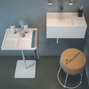 DIMASI BATHROOM Caddy Stojak łazienkowy z wieszakiem ręcznikowym