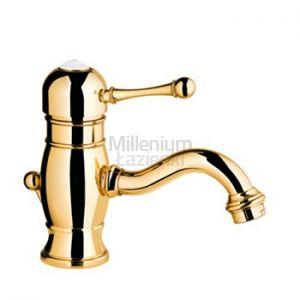 FIR ITALIA Melrose 70141051300 Bateria umywalkowa złota
