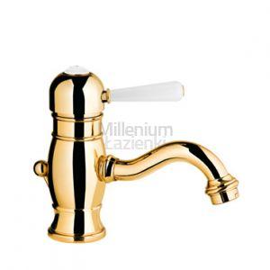 FIR ITALIA Melrose 71141051300 Armatura umywalkowa retro złota