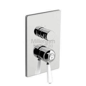 FIR ITALIA Melrose 7150178 Bateria prysznicowa z przełącznikiem