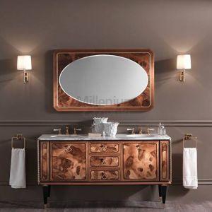 MIA ITALIA Petit 06 Szafka stojąca z dwiema podblatowymi umywalkami