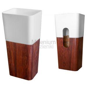 CIPI ITALY Woody CP950 Umywalka stojąca do ściany kompozyt drewno