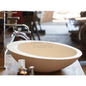 CIPI ITALY Thic CP950THI Okrągła umywalka nablatowa z kompozytu