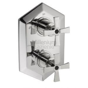 CISAL Cherie CX019100 Bateria prysznicowa termostatyczna 2 wyjścia