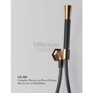 CISAL Cherie CE003030 Słuchawka, wąż, przyłącze wody
