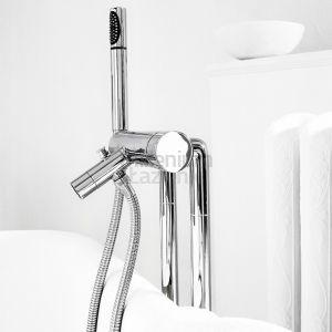 STELLA Bamboo 3267CL306 Bateria wannowa podłogowa z prysznicem