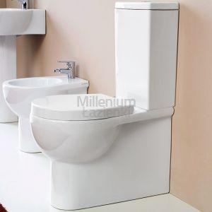 MERIDIANA Bubble Miska wc kompaktowa biała lub czarna
