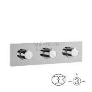 ALPI NU 55L169 Bateria prysznicowa podtynkowa termostatyczna