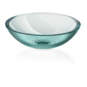 LINEABETA Acquaio 536952980 Umywalka nablatowa ze szkła transparentna