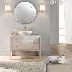 MIA ITALIA Elegance 07 Ekskluzywna szafka z nablatową umywalką