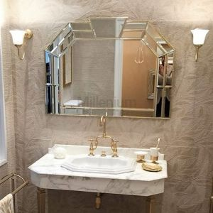SBORDONI SB013 Ekskluzywne lustro łazienkowe ścienne
