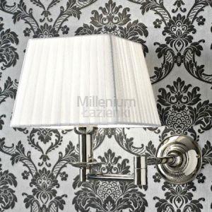 SBORDONI Greta White GR030 Lampa łazienkowa ścienna retro