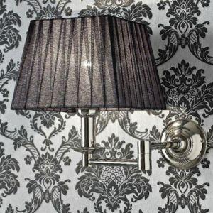 SBORDONI Greta Black GR130 Lampa łazienkowa ścienna retro