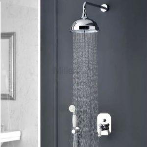 ALPI London LO Zestaw prysznicowy retro z deszczownicą