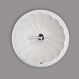 DEVON&DEVON Oxford Dekoracyjna okrągła umywalka podblatowa