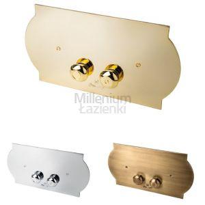 3SC Super Plaque SPL00 Przycisk spłukujący chrom, złoty, brąz, miedź, nikiel
