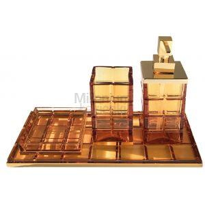 3SC Palace PA99AAM Komplet akcesoriów w kolorze bursztynu
