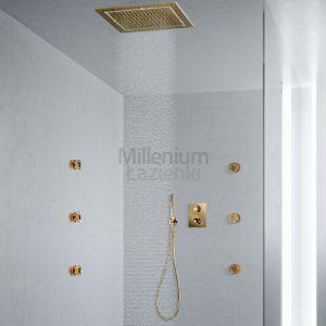 MAIER Muse Diamond Comp5 Zestaw prysznicowy złoty Swarovski