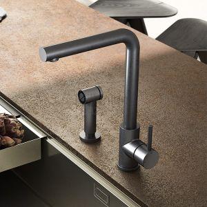 HOTBATH Kitchen FKM18 Bateria kuchenna z wyciąganym prysznicem