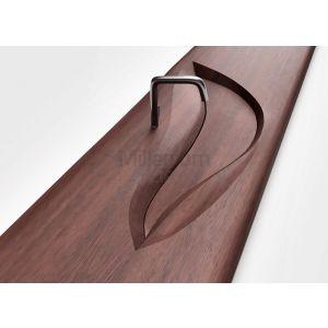 QINN DESIGN Andora Umywalka z litego drewna podwójna