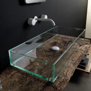 GSG CERAMIC DESIGN Glass GLLA120 Umywalka ze szkła nablatowa